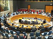 UN Security Council on Thursday