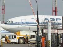 Aeroflot Ilyushin aircraft