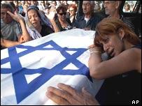 Israeli mourners