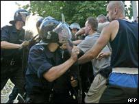 Belgrade clashes over Sljivancanin arrest