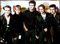 Westlife, whose cover of Seasons In The Sun was the Number One record in Britain at the turn of the Millennium