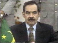 Mauritanian President Maaouiya Ould Sid Ahmed Taya