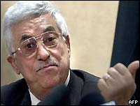 Abu Mazen pledged to end the armed uprising