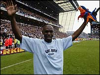 Shaun Goater was a cult hero at Man City