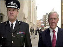 Sir John Stevens and Lord Condon