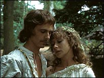 Mirren and Brian Stirner as Orlando and Rosalind in As You Like It (1978)