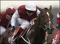 Bourbonnais, ridden by Kevin Darley