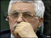 New Palestinian Prime Minister Mahmoud Abbas