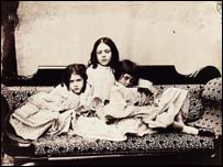 Edith, Ina and Alice Liddell