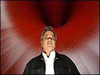 Anish Kapoor with Marsyas
