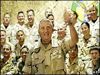 General Tommy Franks, commander of forces in the Iraq war