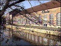 Clarks Factory in Somerset