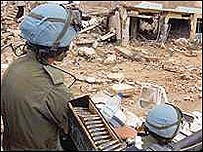 UN peacekeepers in Eritrea