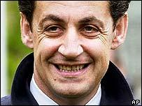 Nicolas Sarkozy, French Interior Minister