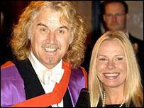 Billy Connolly with Pamela Stephenson