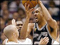 Spurs' Tim Duncan