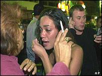 Scene of Tel Aviv bombing