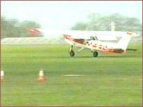 Sywell landing
