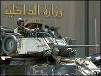 US tank in Iraq