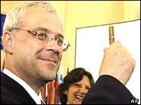Czech Prime Minister Vladimir Spidla