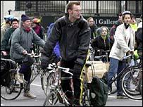 Cyclists