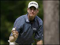 US Open third-round leader Jim Furyk