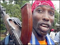 Liberian militiaman