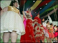 Miss Jumbo 2003 contestants