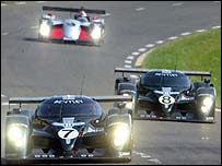 The two Bentleys completed a one-two at Le Mans