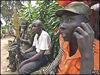 Union of Congolese Patriots soldiers