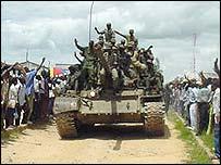 Ugandan tank