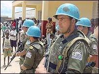 Uruguayan peacekeepers
