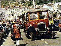 Transport festival in Llandudno