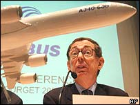 Airbus chief exec Noel Forgeard