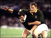 All Black hooker Sean Fitzpatrick