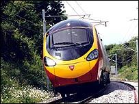 Pendolino train