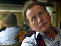 Martin Sheen as the president in The West Wing