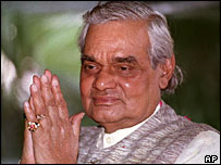 Indian Prime Minister Vajpayee
