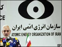 Golamreza Aghazadeh, head of the Atomic Energy Organisation of Iran