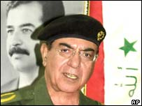 Former Iraqi information minister Mohammed Saeed al-Sahhaf, AP