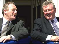 Hibs' Rod Petrie and Hearts' Chris Robinson announce the plans