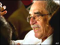 Gabriel Garcia Marquez, winner of Nobel prize for Literature