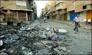 Baghdad street