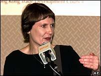 New Zealand Prime Minister Helen Clark
