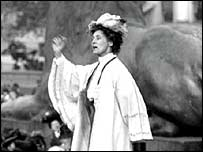 Emily Pankhurst (1858-1928), British campaigner for women's political rights