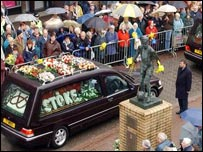 Corporal Allbutt's funeral procession