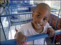 Aids orphan in Durban