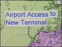 Part of the Gatwick Airport expansion plans