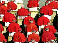 Cardinals in Rome