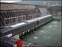 Hydro-electric plant   BBC